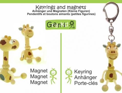 Magnete und Schlüsselanhänger für Kinder