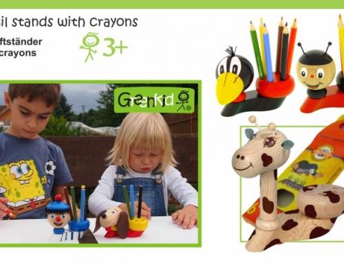 Bleistiftständer mit Farbstiften