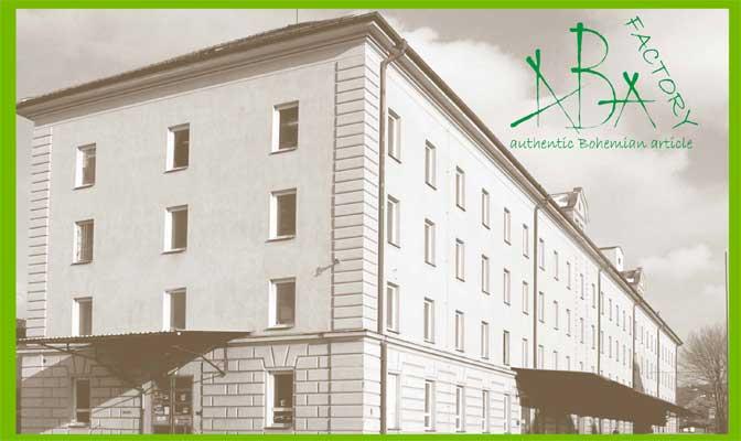 ABAfactory - Authentic Bohemian Article - Logo des Herstellers von hochwertigen Holzspielzeugen aus der Tschechischen Republik.