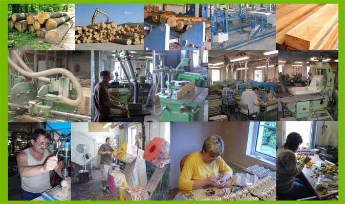 Abafactory die Herstellung der tschechischen Holzspielzeuge, Holzverarbeitung, Handarbeit und handgemalt.